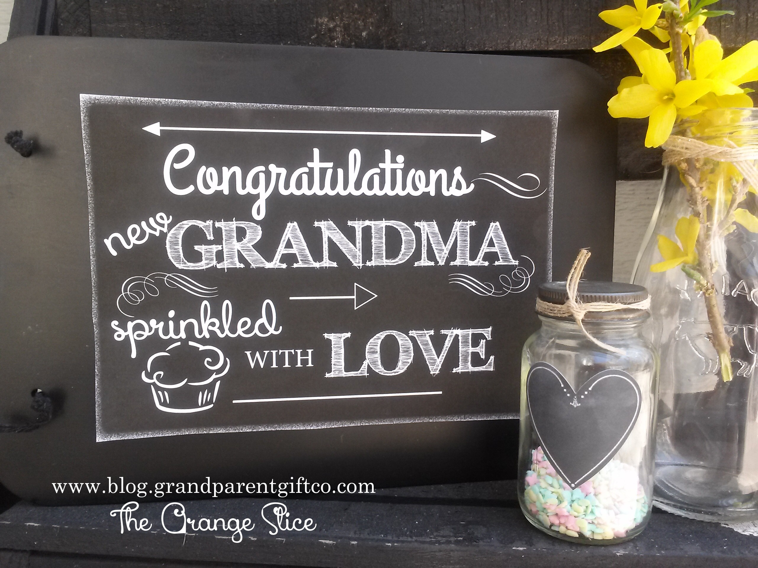 gift ideas for new grandma | The Orange SliceThe Orange Slice